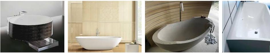 ванны из керамики
