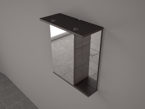 Зеркала с диодной подсветкой в ванную комнату
