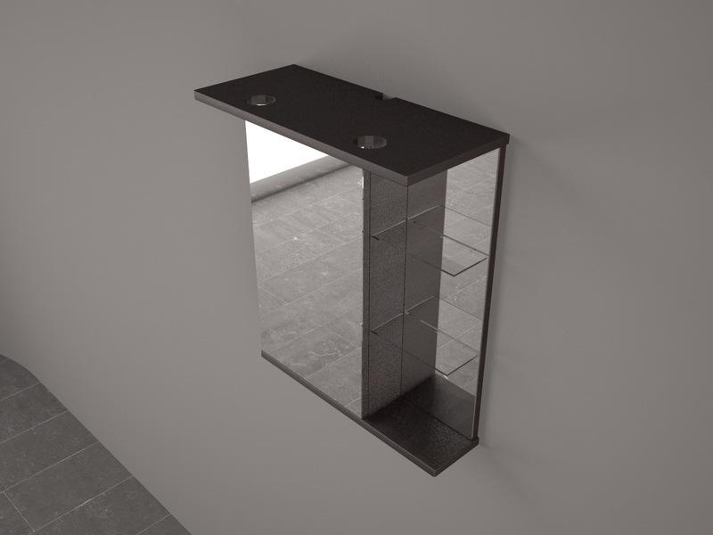 Зеркала в ванную с диодной подсветкой