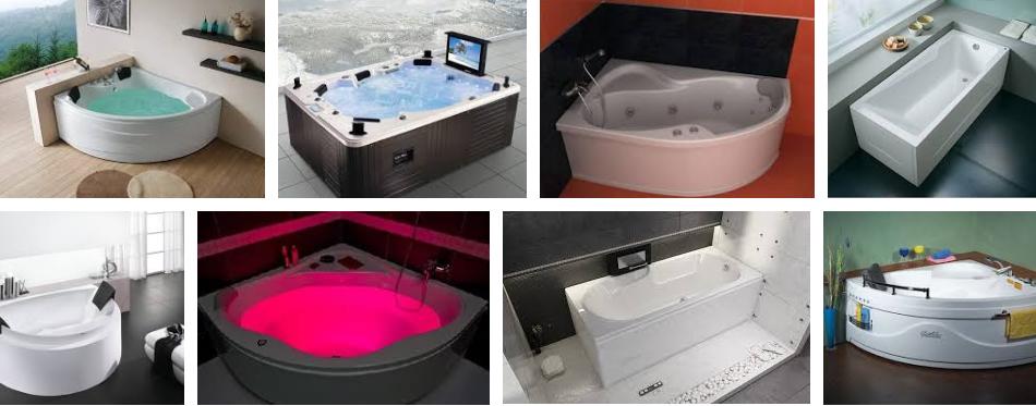 ванны с дополнительными функциями