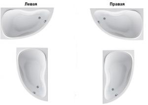 Ванна RAVAK Asymmetric II 160x105