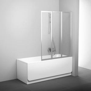 Шторка для ванны RAVAK VS3 - 100 (White - Transparent)