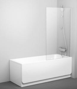 Шторки для ванной Шторка для ванны RAVAK PVS1 (White -Transparent)