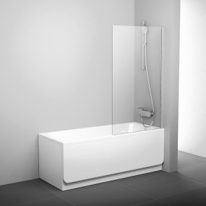 Шторка для ванны RAVAK PVS1 (Satin  -Transparent)
