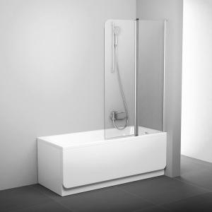 Шторка для ванны RAVAK CVS2 (Satin - Transparent)