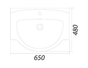 Набор мебели COLOMBO Акцент 2 (65 см.)