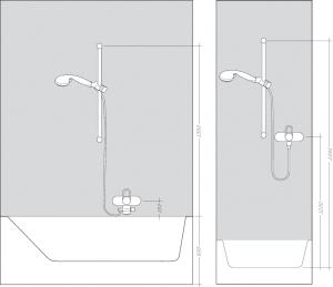 Душевой гарнитур HANSGROHE Raindance Select E 150 3jet/ Unica'S Puro 27857400
