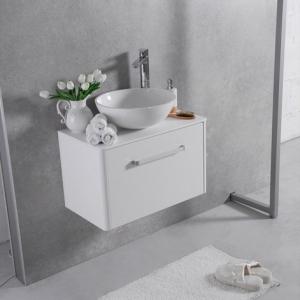 Мебель для ванной комнаты Шкафчик с умывальником FANCY MARBLE Fiji 500+ Mona (Белый)