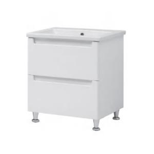Мебель для ванной комнаты Шкафчик с умывальником ЮВВИС Эльба Канте 60 ТН-2 Д