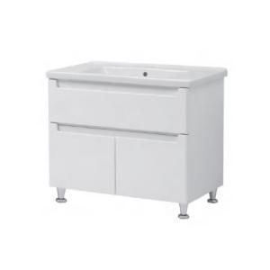 Мебель для ванной комнаты Шкафчик с умывальником ЮВВИС Эльба Канте 80 ТН-3 Д