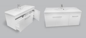 Мебель для ванной комнаты Шкафчик с умывальником NORWAY Catarina 1200 M102120