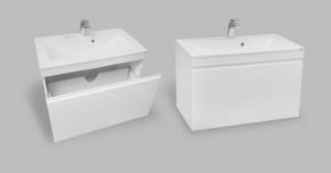 Мебель для ванной комнаты Шкафчик с умывальником NORWAY Eva 600 M105060