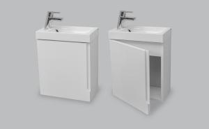 Мебель для ванной комнаты Шкафчик с умывальником NORWAY Mini M106040
