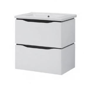 Мебель для ванной комнаты Шкафчик с умывальником ЮВВИС Сенатор Веста 70 ТП-2 Д