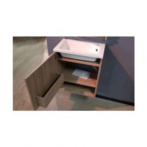 Шкафчик с умывальником FANCY MARBLE Ion 50 + Jessica (Дуб Брунико)