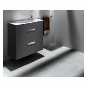 Шкафчик с умывальником ROCA Debba 80 A855907153 (серый)