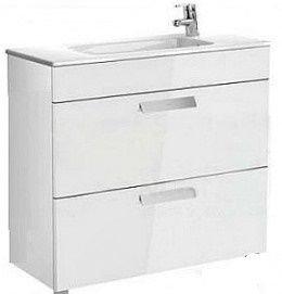 Мебель для ванной комнаты Шкафчик с умывальником ROCA Debba 80 A855907806 (белый)