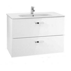 Мебель для ванной комнаты Шкафчик с умывальником ROCA Victoria 100 A855851806 (белый)