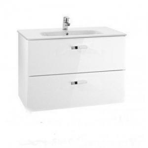 Мебель для ванной комнаты Шкафчик с умывальником ROCA Victoria 80 A855852806 (белый)