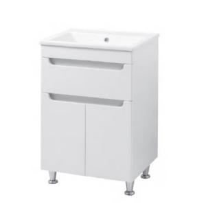 Мебель для ванной комнаты Шкафчик с умывальником ЮВВИС Эльба Кредо 55 ТН-3