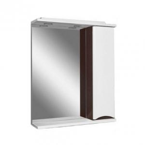 Мебель для ванной комнаты Шкафчик с зеркалом AM PM Like 80 (белый/венге)