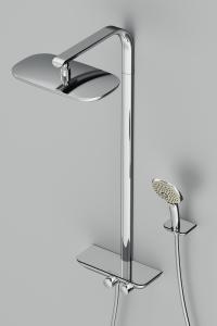 Душевая система с термостатом AM PM Sensation F0730000
