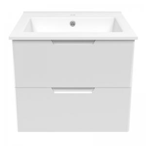 Шкафчик с умывальником VOLLE Libra 60 (Белый)