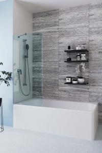 Шторки для ванной Шторка для ванны VELINO Anima - 70 (Сатин)