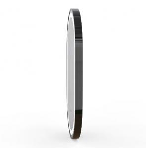 Зеркало VOLLE 50x80 с подсветкой, диммером, подогревом - black