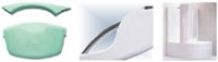 Комплектующие Ручка для ванны RAVAK Rosa хром