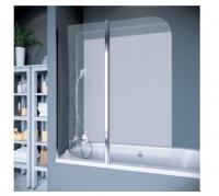 Шторки для ванной Шторка на ванну KOLLER POOL QP95 L/P 115x140 (chrome-transparent)