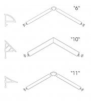 Комплектующие Декоративная планка RAVAK 6/1100