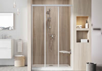 Душевые двери Душевая дверь RAVAK ASDP3 - 130 (White - Pearl)