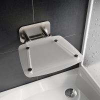 Аксессуары для ванной комнаты Сидение RAVAK Ovo B II-clear