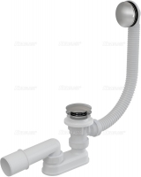 Сифоны Сифон для ванны click-clack, метал A504KM