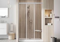 Душевые двери Душевая дверь RAVAK ASDP3 - 80 (Satin - Transparent)