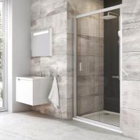 Душевые двери Душевая дверь RAVAK BLDP2 - 100 (Satin - Transparent)