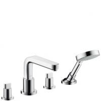 Смесители для ванны Смеситель для ванны HANSGROHE Metris S 31446000