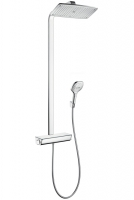 Душевая программа Душевая система с термостатом HANSGROHE Raindance Select E 360 Showerpipe 27112000