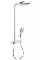 Душевая программа Душевая система с термостатом HANSGROHE Raindance Select E 300 3jet Showerpipe 27127000