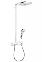 Душевая программа Душевая система с термостатом HANSGROHE Raindance Select E 300 3jet Showerpipe 27127400