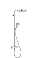 Душевая программа Душевая система с термостатом HANSGROHE Raindance Select S 240 2jet Showerpipe 27129000