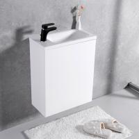 Мебель для ванной комнаты Шкафчик с умывальником FANCY MARBLE Java ШН-500 +  Linnea 500 (Белый)
