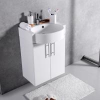 Мебель для ванной комнаты Шкафчик с умывальником FANCY MARBLE Ibiza ШН-512 + Comfort 512C (Белый)