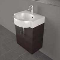 Мебель для ванной комнаты Шкафчик с умывальником FANCY MARBLE Ibiza ШН-512 + Comfort 512C (Венге)