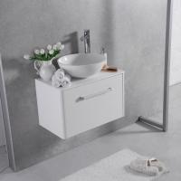 Мебель для ванной комнаты Шкафчик с умывальником FANCY MARBLE Fiji 800 + Mona (Белый)