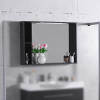 Мебель для ванной комнаты Шкафчик с зеркалом  FANCY MARBLE ШЗ-980 (Венге)
