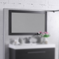 Мебель для ванной комнаты Зеркало FANCY MARBLE ЗР-1 (Венге)