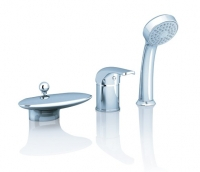 Смесители для ванны Смеситель для ванны RAVAK Rosa RS 025.00