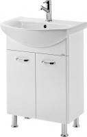 Мебель для ванной комнаты Шкафчик с умывальником CERSANIT Alpina/Libra 60